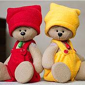 Куклы и игрушки ручной работы. Ярмарка Мастеров - ручная работа Разноцветные мишки-гномы. Handmade.