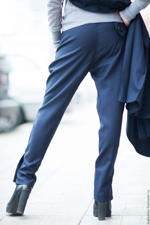 Брюки с карманами женские