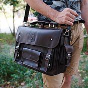 Сумки и аксессуары handmade. Livemaster - original item Portfolio leather Werner. Handmade.