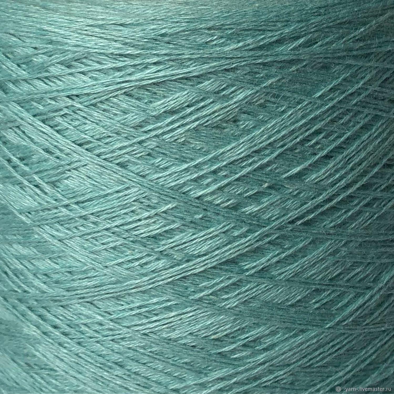 Пряжа шелк суперкидмохер SERENA голубая лагуна – купить на Ярмарке Мастеров – NPO2GRU | Пряжа, Санкт-Петербург
