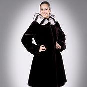 Одежда handmade. Livemaster - original item Beaver fur coat Hooded. Handmade.
