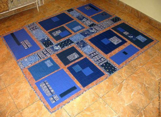 Текстиль, ковры ручной работы. Ярмарка Мастеров - ручная работа. Купить Пэчворк. Лоскутное покрывало на гобеленовой ткани. Handmade. Пэчворк