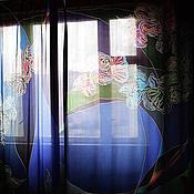 """Для дома и интерьера ручной работы. Ярмарка Мастеров - ручная работа Шторы """"Таинственная глубина"""". Handmade."""