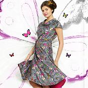 """Одежда ручной работы. Ярмарка Мастеров - ручная работа Valentino ашемировое платье """"бабочки"""". Handmade."""