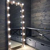 Для дома и интерьера handmade. Livemaster - original item Mirror DARK WOOD.. Handmade.
