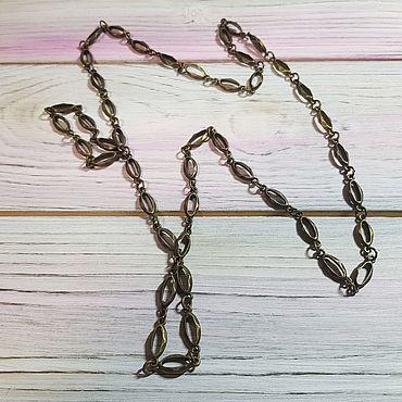 Материалы для творчества ручной работы. Ярмарка Мастеров - ручная работа Цепочка металлическая для клатчей, сумок (бронза). Handmade.