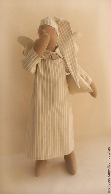 Куклы Тильды ручной работы. Ярмарка Мастеров - ручная работа. Купить Набор для шитья Сплюшка (МК). Handmade. Шьем сами