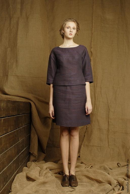 The Business Suit Women S Summer Linen Suit Skirt Top Colors