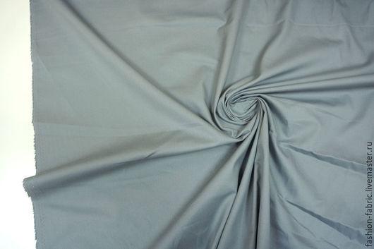 Шитье ручной работы. Ярмарка Мастеров - ручная работа. Купить Ткань Хлопок серый 1911605 Цена за метр. Handmade.