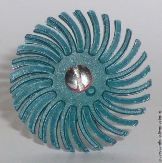 Другие виды рукоделия ручной работы. Ярмарка Мастеров - ручная работа. Купить Абразивно-полимерная щетка малая грубая. Handmade.