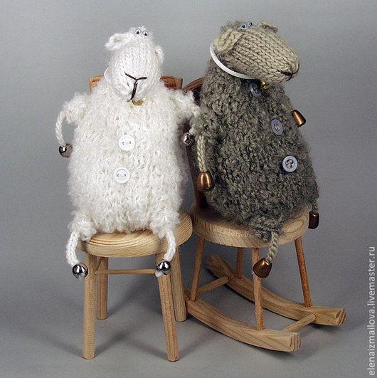 Игрушки животные, ручной работы. Ярмарка Мастеров - ручная работа. Купить новогодняя Овечка/ овца/ барашек Овечка игрушка символ 2015. Handmade.
