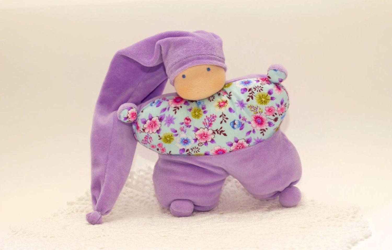 Komforter, 24 cm (splush doll - butterfly), Waldorf Dolls & Animals, Moscow,  Фото №1