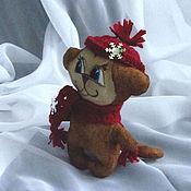 Куклы и игрушки handmade. Livemaster - original item coffee monkey. Handmade.