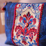 Сумки и аксессуары handmade. Livemaster - original item Cosmetic bag designs. Handmade.