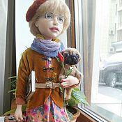 """Куклы и игрушки ручной работы. Ярмарка Мастеров - ручная работа """"Гостья"""". Handmade."""