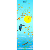 Картины ручной работы. Ярмарка Мастеров - ручная работа Авторский календарь 2020 года.. Handmade.