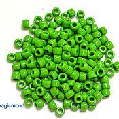 Материалы для творчества handmade. Livemaster - original item 10 grams 6/0 Toho 47 Japanese TOHO beads opaque mint green. Handmade.