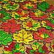 """Кулинарные сувениры ручной работы. Ярмарка Мастеров - ручная работа. Купить Пряники """"Осенний листопад"""". Handmade. Осень, пряник имбирный"""