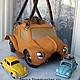 Handbags handmade. Livemaster - handmade. Buy Bag machine 'Yellow beetle'..Exclusive gift, solid, metal hardware