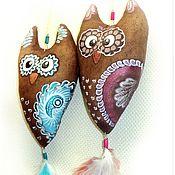Куклы и игрушки ручной работы. Ярмарка Мастеров - ручная работа Совушки-подвески, кофейные игрушки, ароматизированные подарки. Handmade.