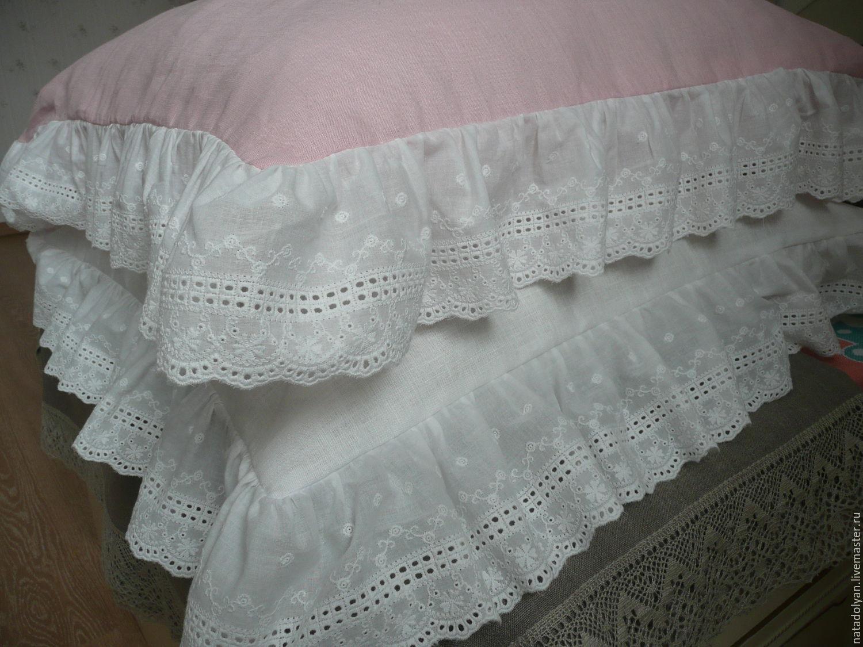 Pillowcases linen 'Lace'-set, Pillowcases, Ivanovo,  Фото №1