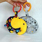 """Куклы и игрушки ручной работы. Ярмарка Мастеров - ручная работа Сенсорная игрушка """"Слонотоп"""". Handmade."""