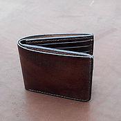 Сумки и аксессуары handmade. Livemaster - original item Purse leather Labour minima. Handmade.