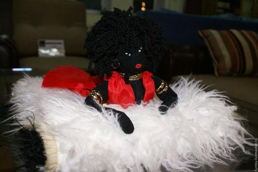 """Куклы Тильды ручной работы. Ярмарка Мастеров - ручная работа. Купить Тильда """"Дитя пустыни"""". Handmade. Черный, кукла в подарок"""