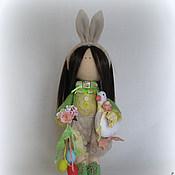 Куклы и игрушки handmade. Livemaster - original item The Doll Interior.Author`s Textile little Easter BUNNY!. Handmade.