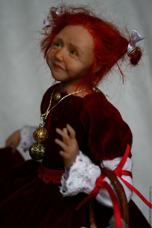 Коллекционные куклы ручной работы. Ярмарка Мастеров - ручная работа. Купить Корзина подарков. Handmade. Ручная работа, кружево, бархат