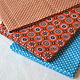 Шитье ручной работы. Заказать Ткань хлопок, Орнамент колесико, оранжевый. Надежда Стиль, ткани. Ярмарка Мастеров. Бязь хлопок
