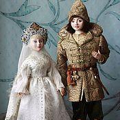 """Куклы и игрушки ручной работы. Ярмарка Мастеров - ручная работа авторские куклы """"Князь Гвидон и царевна-Лебедь"""". Handmade."""