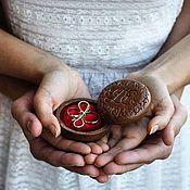 Подарки ручной работы. Ярмарка Мастеров - ручная работа Шкатулочка для колец, подарок на свадьбу, подарок невесте.. Handmade.