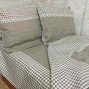 Для дома и интерьера handmade. Livemaster - original item Linen bedding set