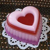 Косметика ручной работы handmade. Livemaster - original item Heart. Gift handmade soap.. Handmade.