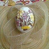 Сувениры и подарки ручной работы. Ярмарка Мастеров - ручная работа Пасхальное пряничное яйцо. Handmade.
