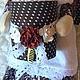 Ванная комната ручной работы. Шоколадная зайка хранительница ватных дисков и палочек. Виолетта Каргинова. Ярмарка Мастеров. Шоколадный заяц