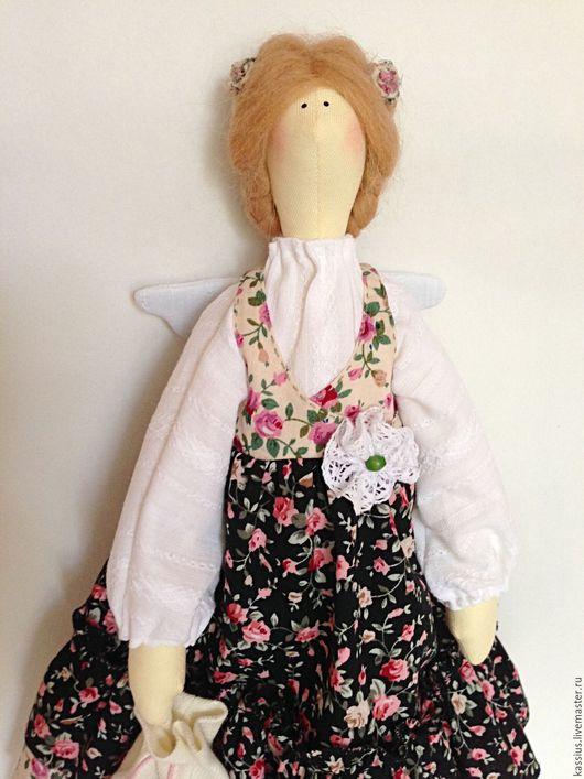 Куклы Тильды ручной работы. Ярмарка Мастеров - ручная работа. Купить Кофейная фея (Интерьерная кукла ангел тильда ). Handmade.