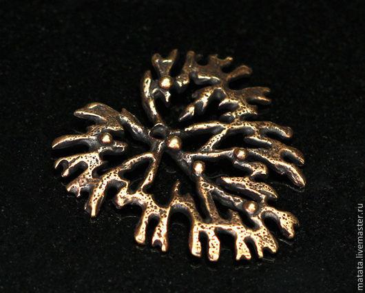 Для украшений ручной работы. Ярмарка Мастеров - ручная работа. Купить Мхи и травы 2855-170 (1). Handmade. Бронза