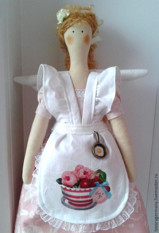 Кукла тильда толстушка
