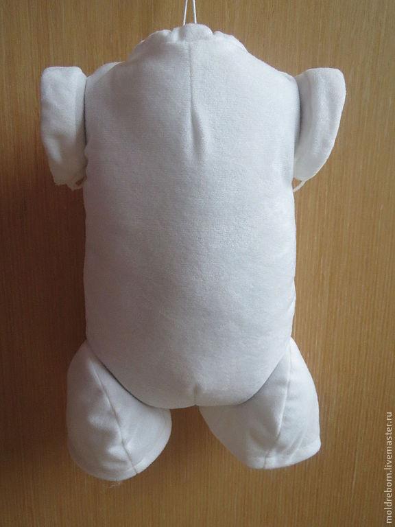 Тело тканевое LVT ,руки полные , ноги 3/4. размер 20, Заготовки для кукол и игрушек, Москва,  Фото №1
