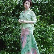 Одежда handmade. Livemaster - original item felt Skirt 17021. Handmade.