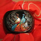 Украшения handmade. Livemaster - original item Red peacocks. Handmade.