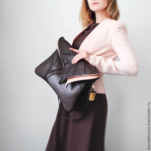 Женские сумки ручной работы. Ярмарка Мастеров - ручная работа. Купить Лист макси разные. Handmade. Однотонный, шёлк