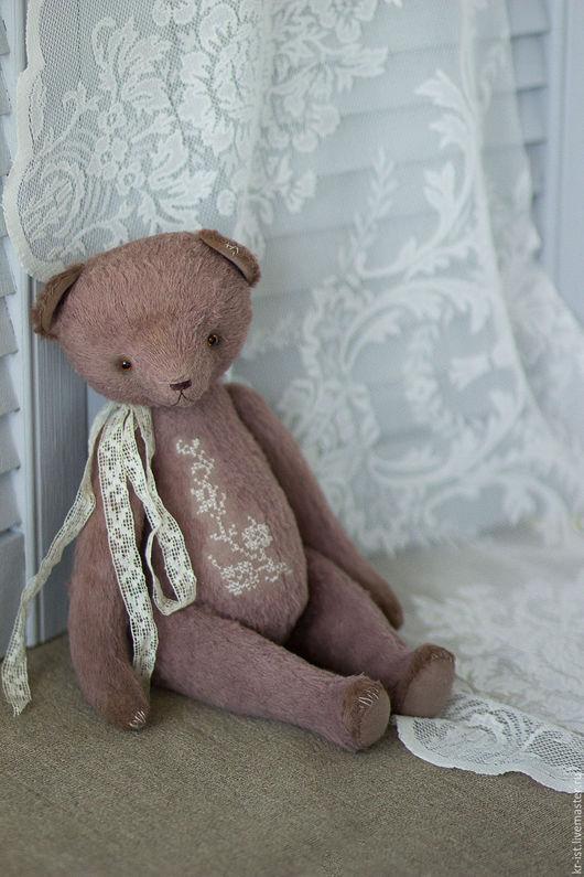 Мишки Тедди ручной работы. Ярмарка Мастеров - ручная работа. Купить Майкл. Handmade. Коричневый, винтаж, подарок девушке