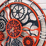 Часы ручной работы. Ярмарка Мастеров - ручная работа Настенные часы. Handmade.