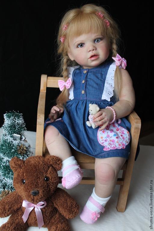 Куклы-младенцы и reborn ручной работы. Ярмарка Мастеров - ручная работа. Купить Кукла реборн Эмилия. Handmade. Молд лилу