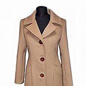 Пальто ручной работы. Ярмарка Мастеров - ручная работа Пальто зимнее с утеплителем. Handmade.