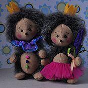 Куклы и игрушки ручной работы. Ярмарка Мастеров - ручная работа Ежики принц и принцесса. Handmade.