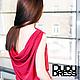 Платья ручной работы. Красное платье в пол качели на спине. Dudu-dress. Ярмарка Мастеров. Платье в пол, вечернее платье